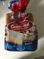 Pain de mie Natural La Boulangere - Product