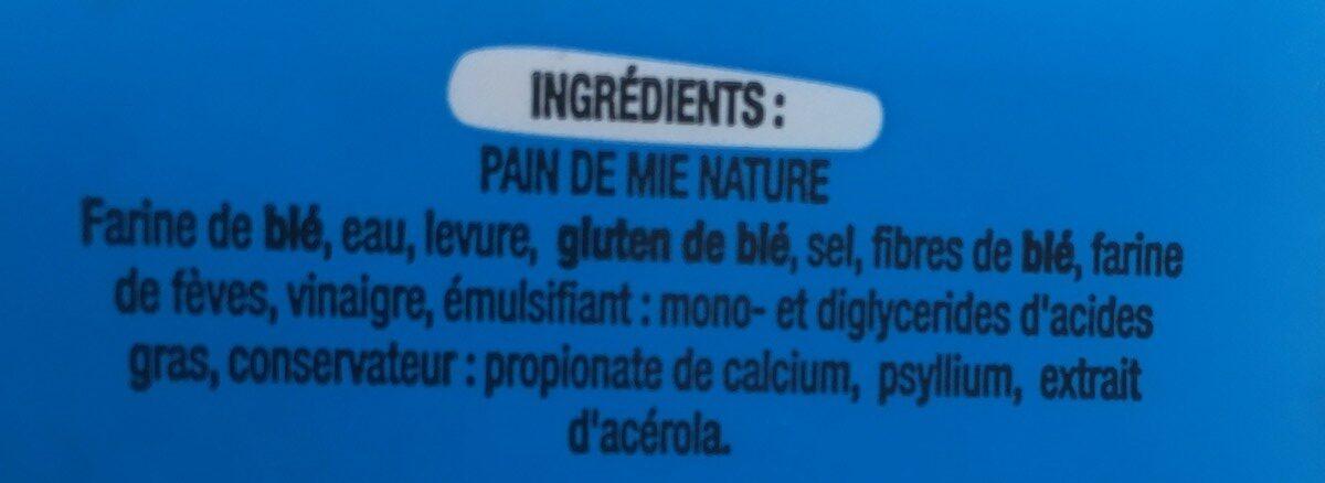 Pain de mie  toastiligne - Inhaltsstoffe - fr