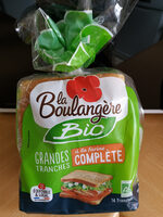 Pain de mie à la farine complète - Produto - fr