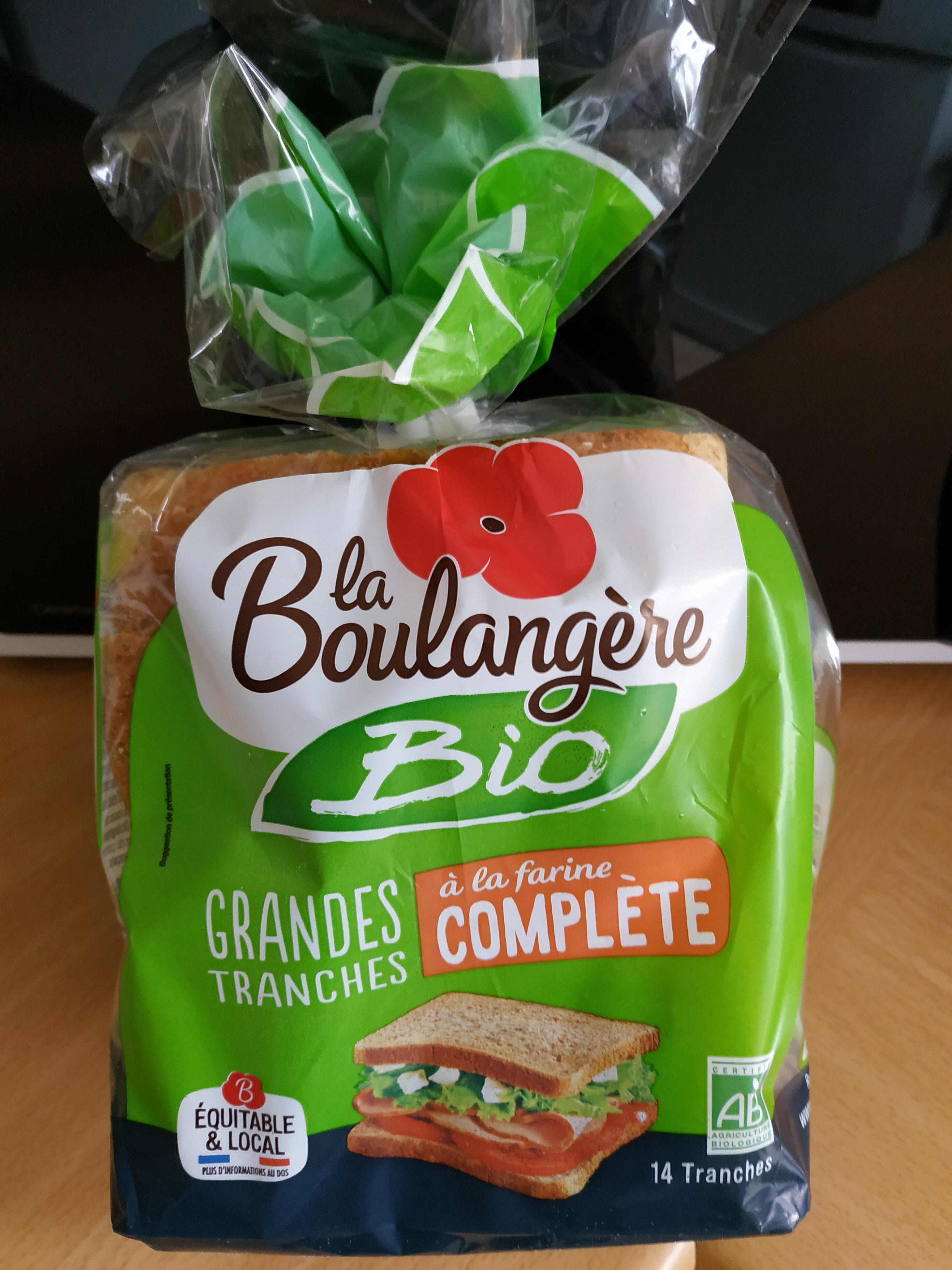 Pain de mie Bio à la farine complète - Prodotto - fr