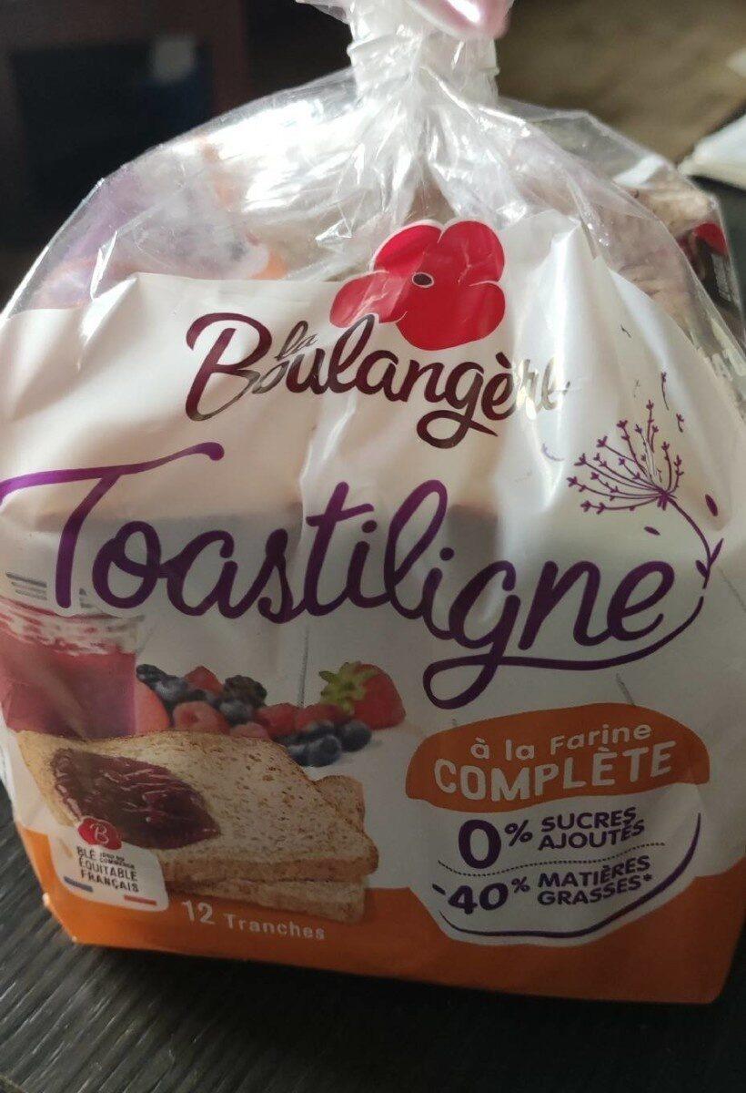 Pain de mie à la farine complète Toastiligne - Produit - fr