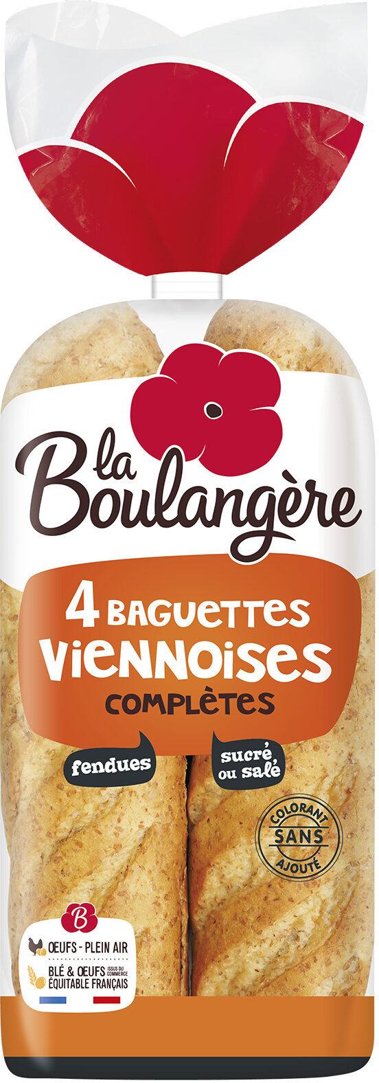 Baguette viennoises complètes - Produit - fr