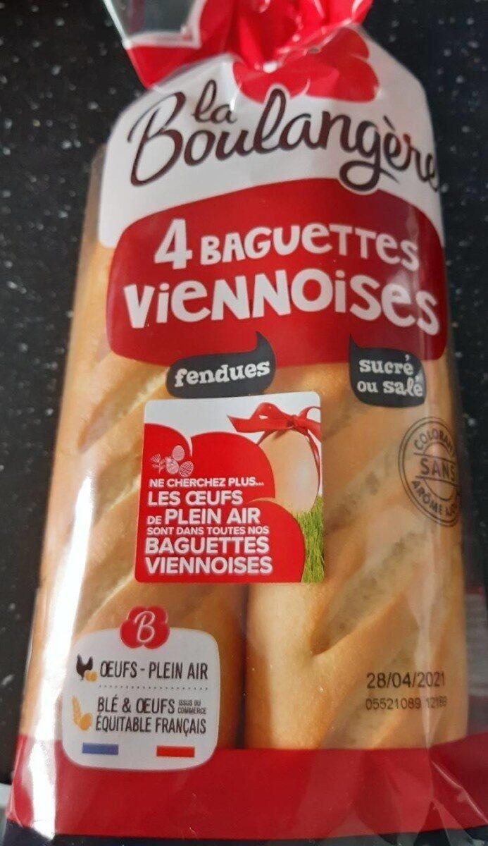 4 baguettes viennoises - Prodotto - fr