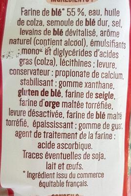 Tartines spécial campagne - Ingredients - fr