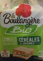 Pain de Mie Bio Céréales et Graines - Product