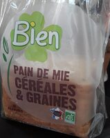 Pain de mie céréales graines - Product - fr