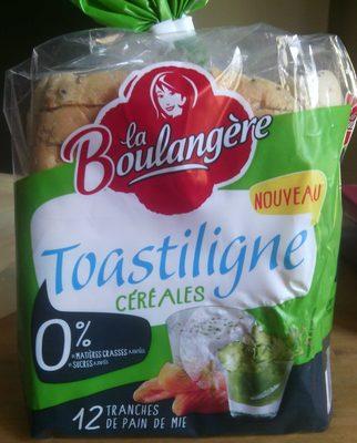 Toastiligne Céréales 0% matières grasses et sucres - Produkt