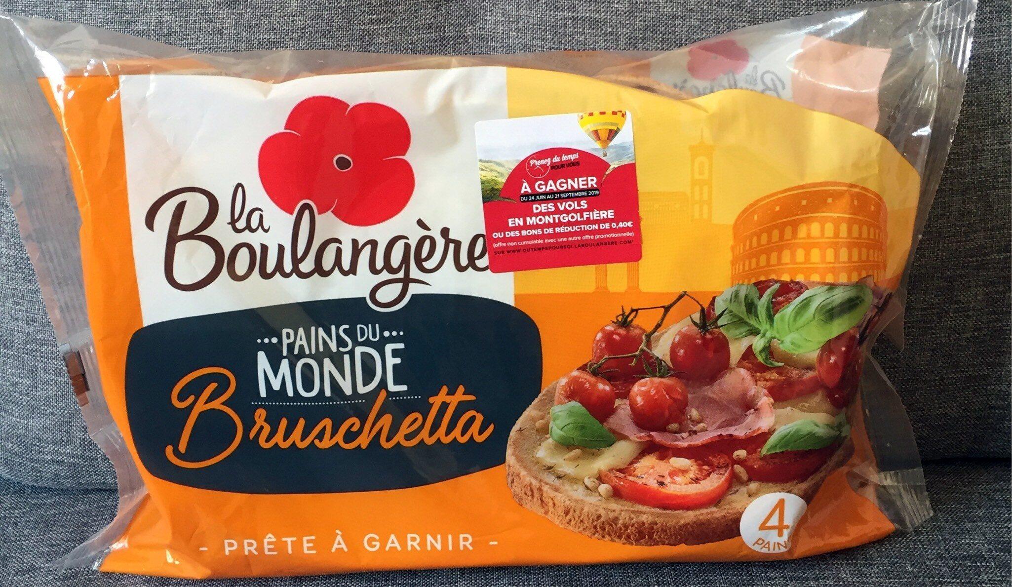 Pains Bruschetta - Product - fr