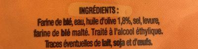 Pains Bruschetta - Ingrediënten - fr