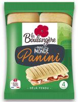 Pains du Monde 4 Pains Panini - Product - fr