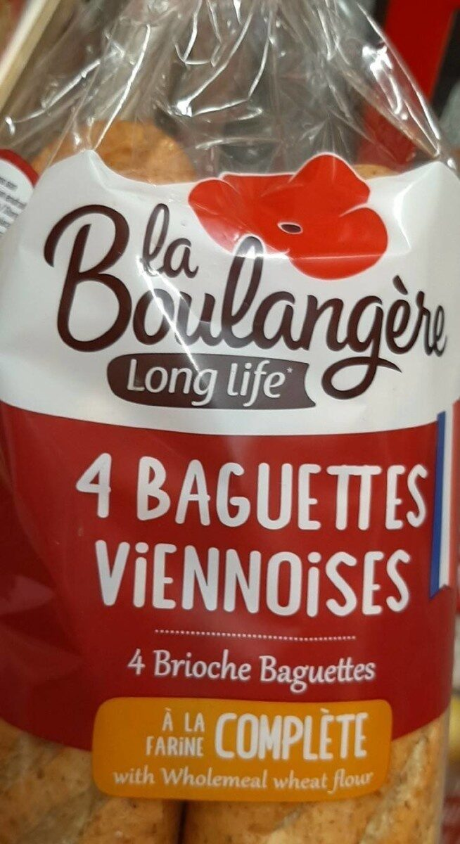 4 Baguettes viennoises - Product - fr