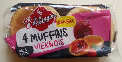 4 Muffins Viennois - Product - fr