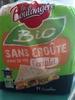 Pain de mie bio sans croûte à la farine complète - Product