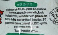 Baguettes viennoises - Ingrediënten