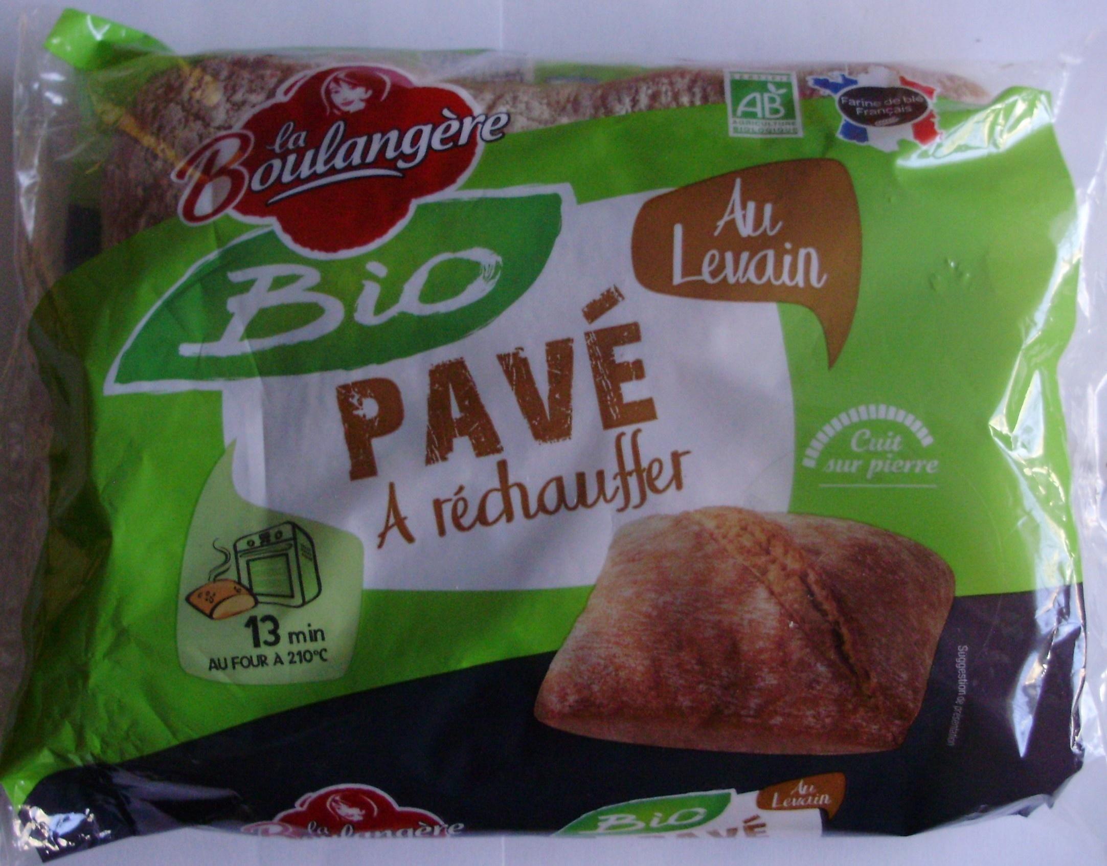 Pavé Au Levain Bio - A réchauffer - Product