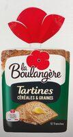 Tartines céréales et graines - Produit - fr
