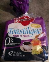 Toastiligne Muesli et fruits - Produit