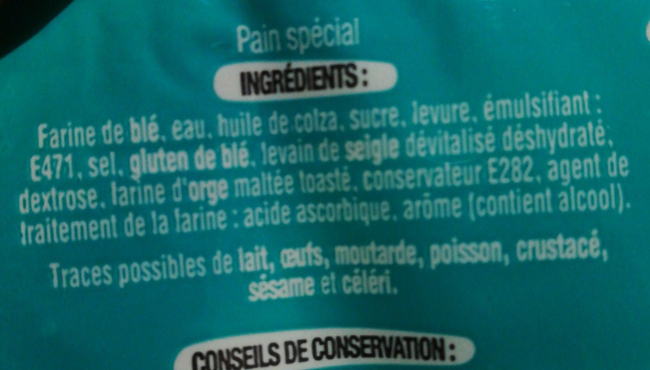 Pain bagel - Ingredienti - fr