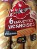 6 Baguettes Viennoises - Product