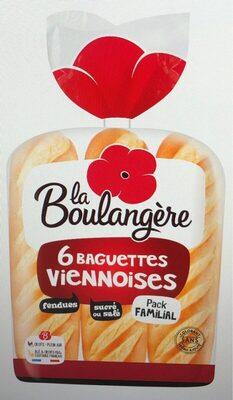 6 Baguettes Viennoises - Produit - fr