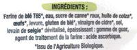 Baguettes viennoises - Ingrediënten - fr