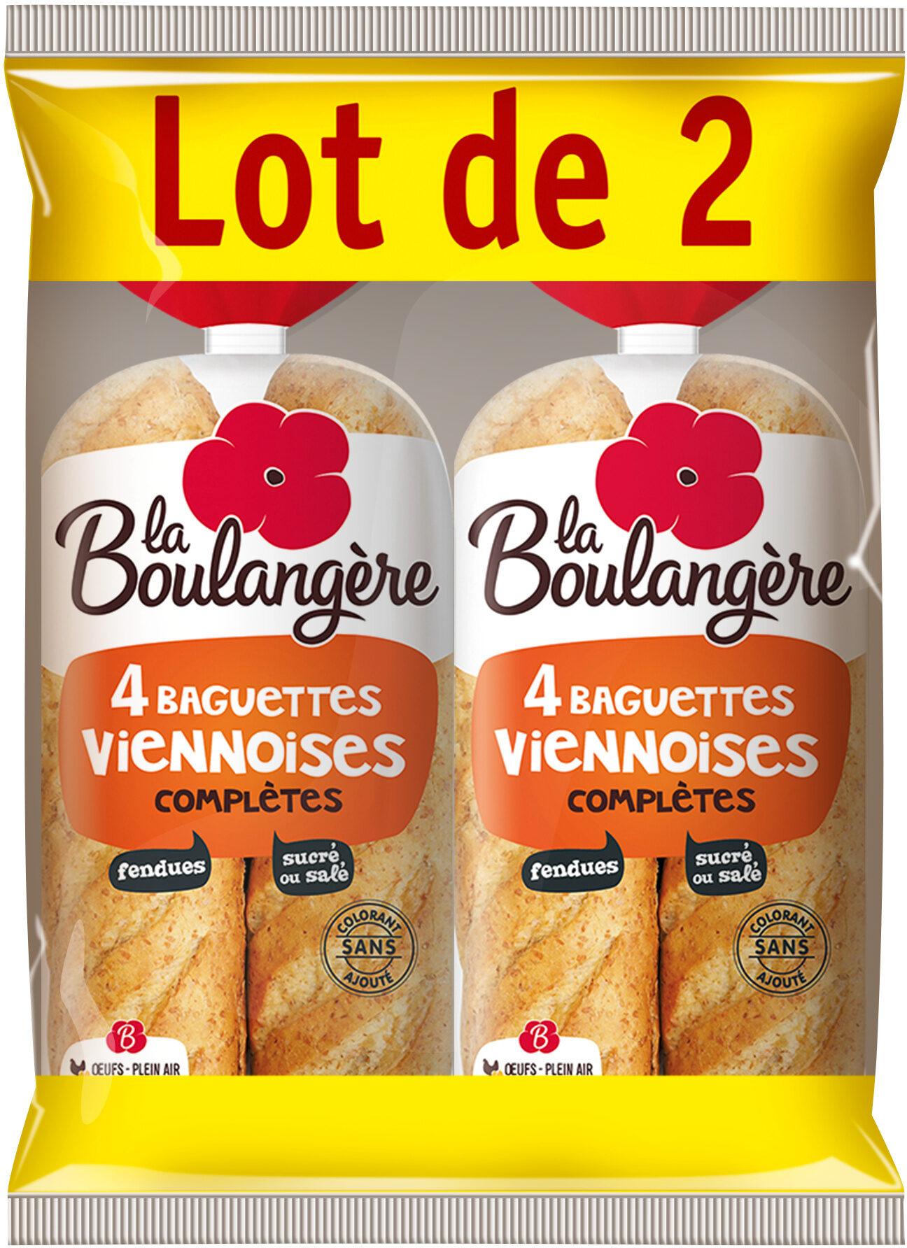 Baguette viennoise farine complète - Prodotto - fr
