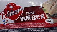 PAINS BURGER - Product - fr