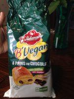 Pains au chocolat Vegan - Produit