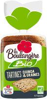 Tartines quinoa et graine - Produit - fr