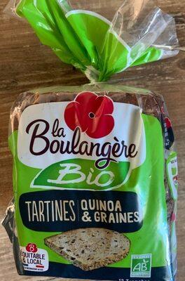 Tartines Quinoa & Graine - Produit - fr
