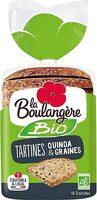 Tartines quinoa et graine - Prodotto - fr