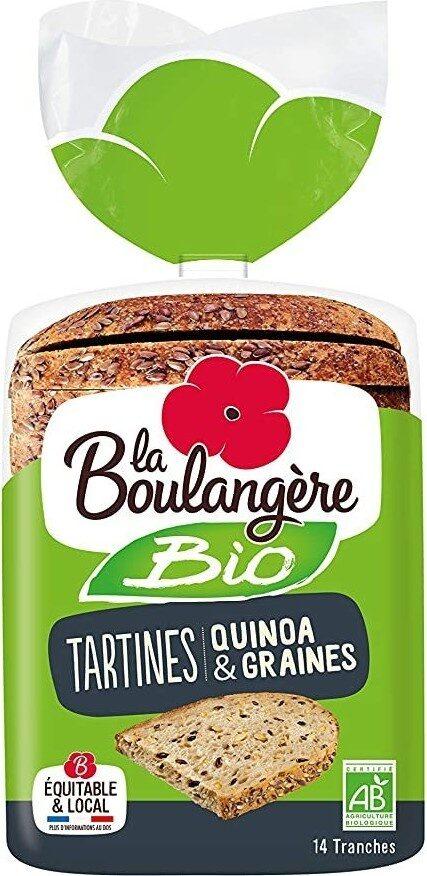 Tartines quinoa et graine - Product - fr