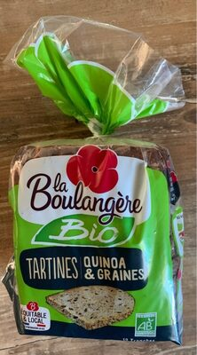 Tartines quinoa et graine - Recycling instructions and/or packaging information - fr
