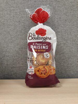 6 Mini Pains aux Raisins - Product