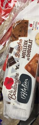 Brioche facon moelleux au chocolat - Product - fr