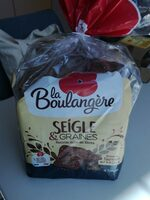 Pain de mie Seigle & graines - Product - fr