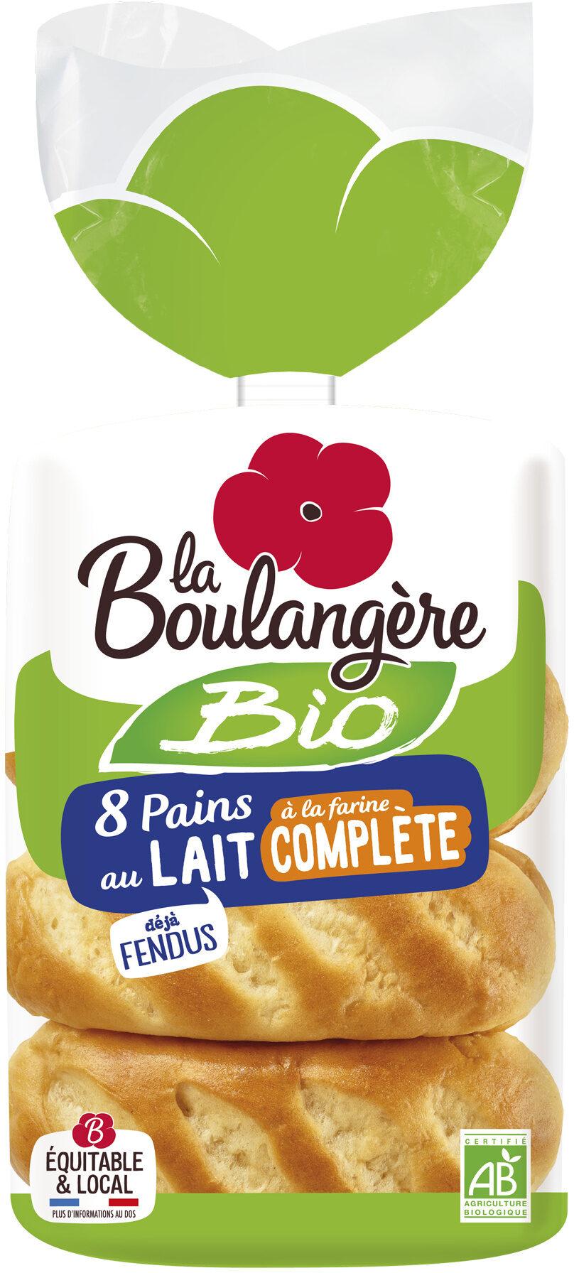 Pains au lait à la farine complète - Prodotto - fr