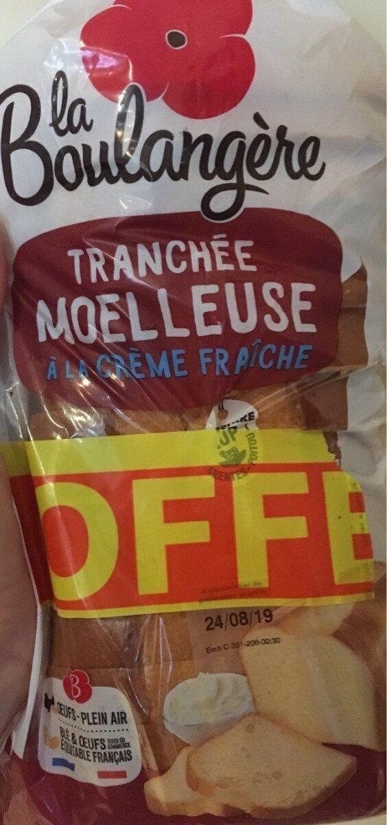 Tranchée moelleuse à la crème fraîche - Product - fr