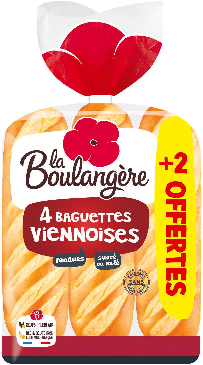 Baguettes Viennoises Nature - Prodotto - fr