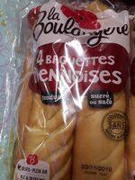 Baguettes Viennoises Nature - Produit