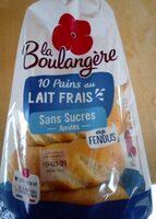 10 pains au lait frais - Prodotto - fr