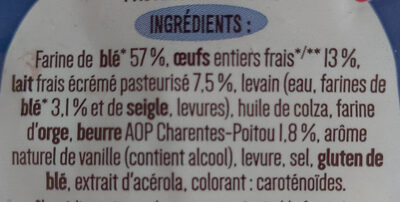 10 pains au lait frais - Ingredienti - fr