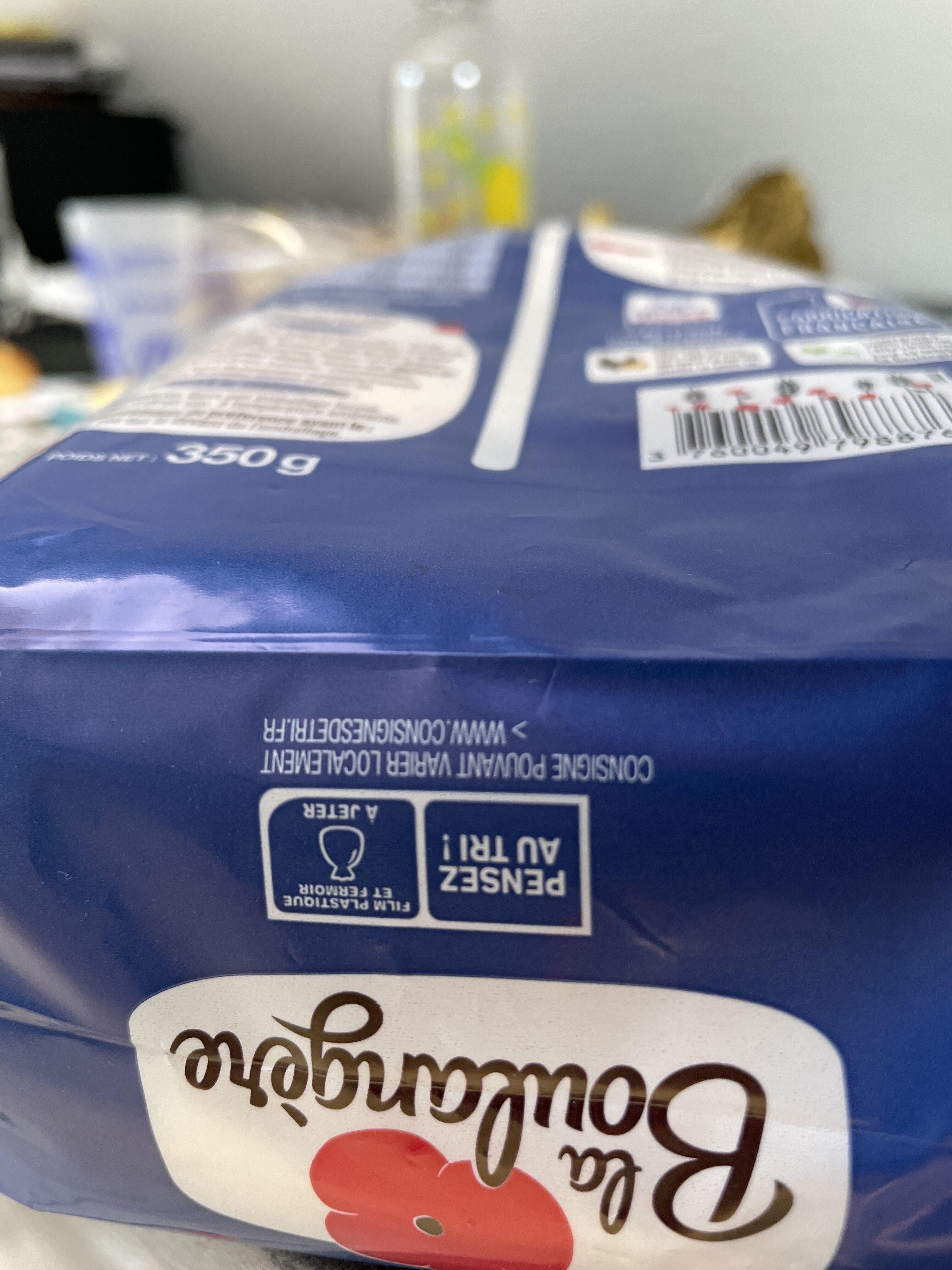 10 pains au lait frais - Istruzioni per il riciclaggio e/o informazioni sull'imballaggio - fr