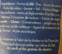 Le nature moelleux - Ingrédients - fr