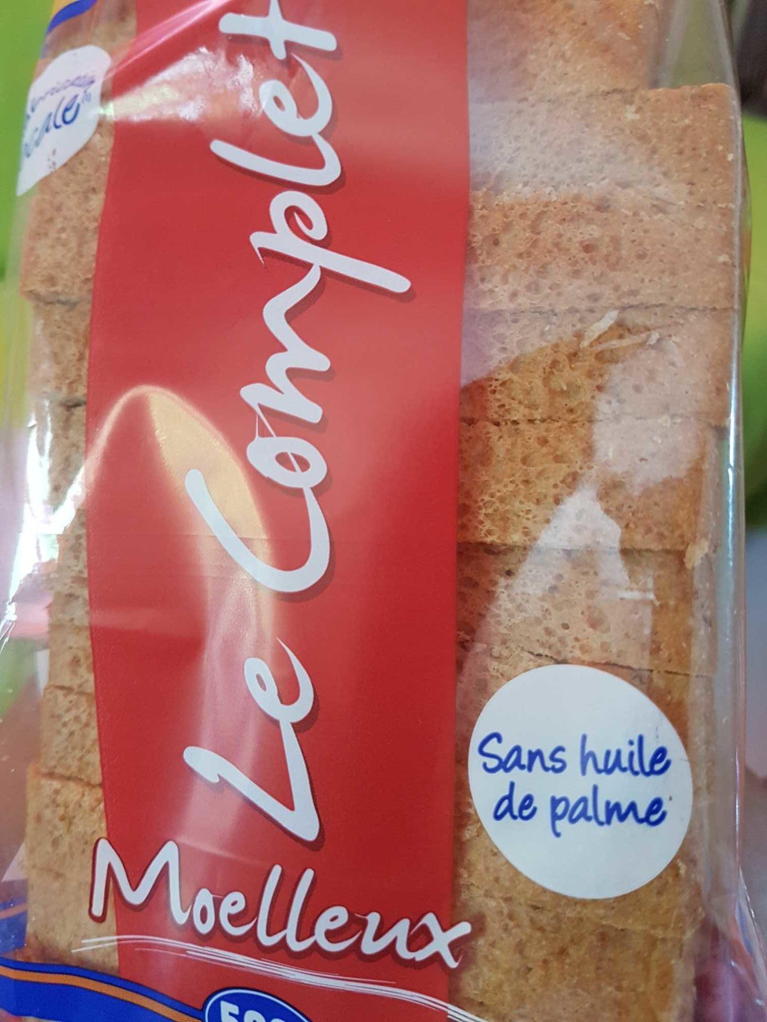 Pain le Complet Moelleux - Prodotto - fr