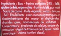 Pain le Complet Moelleux - Ingredienti - fr