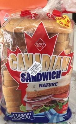 Canadian Sandwich Nature - Produit - fr