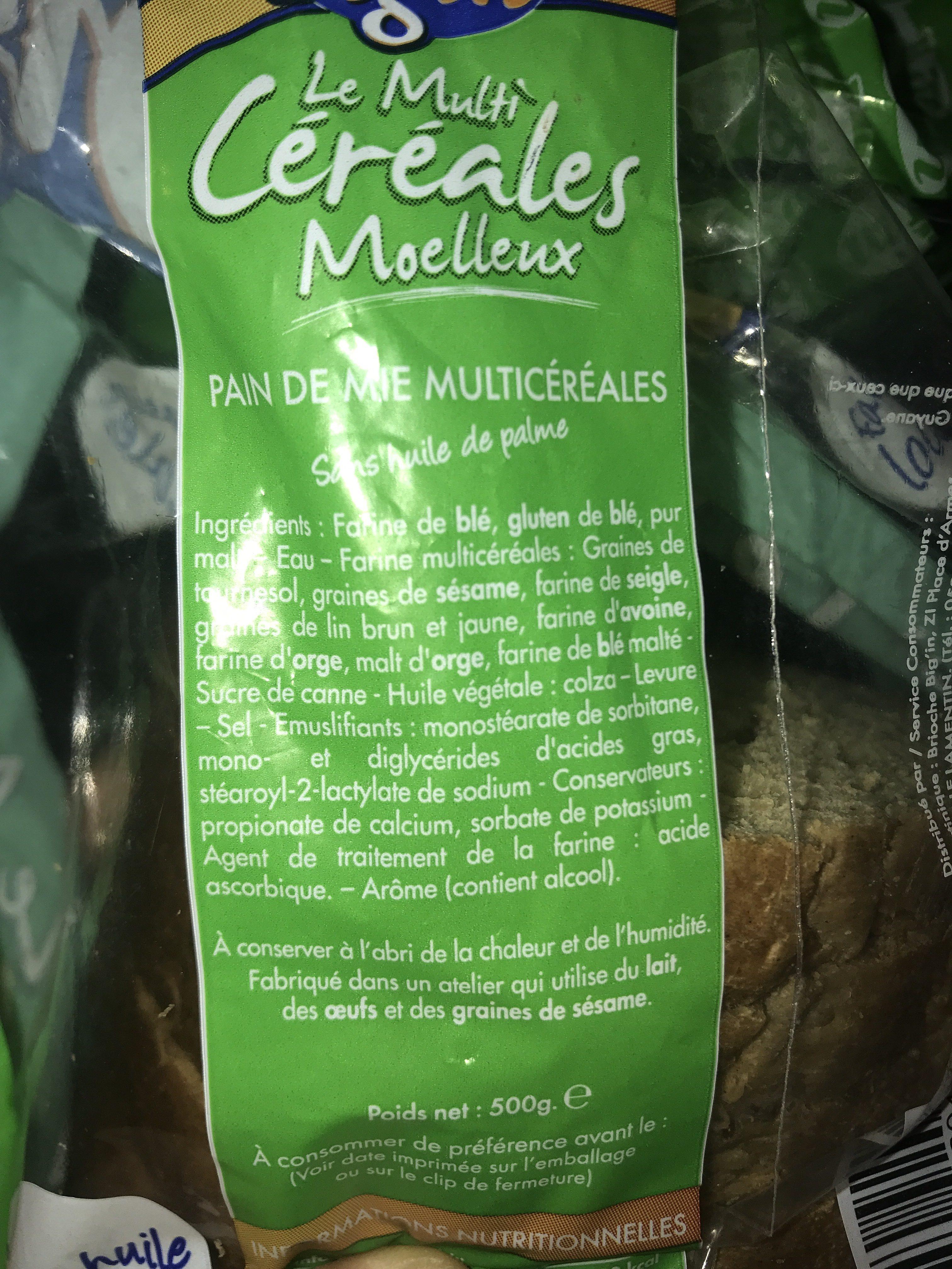 Le multi cerales - Ingrediënten - fr