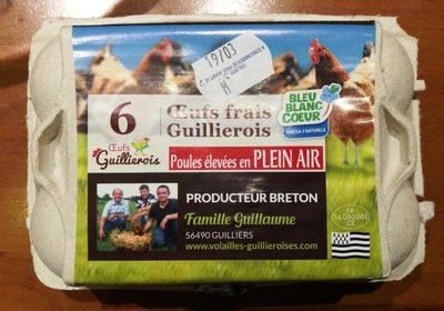 Œufs Frais Guillierois - Producto
