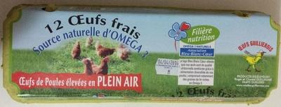 12 Œufs Frais - Product - fr